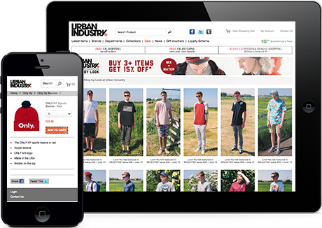 Urban Industry Optimised to Work on Smartphones and Tablets